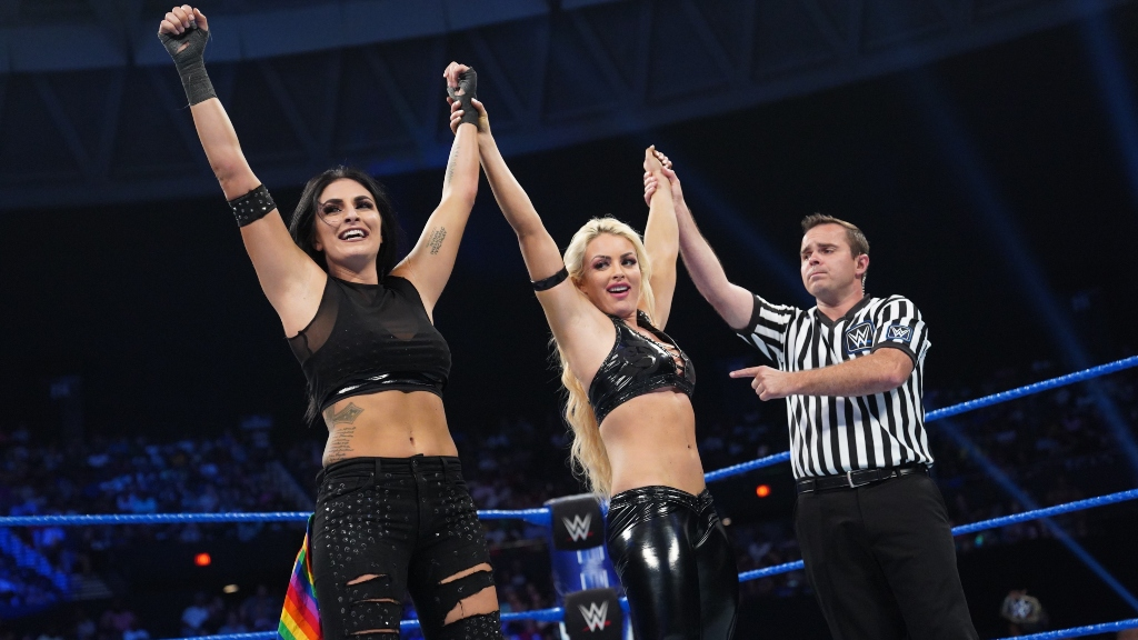 WWE Superstar Sonya Deville: 'Had To Find A Way To Be Comfortable With Who I Was'