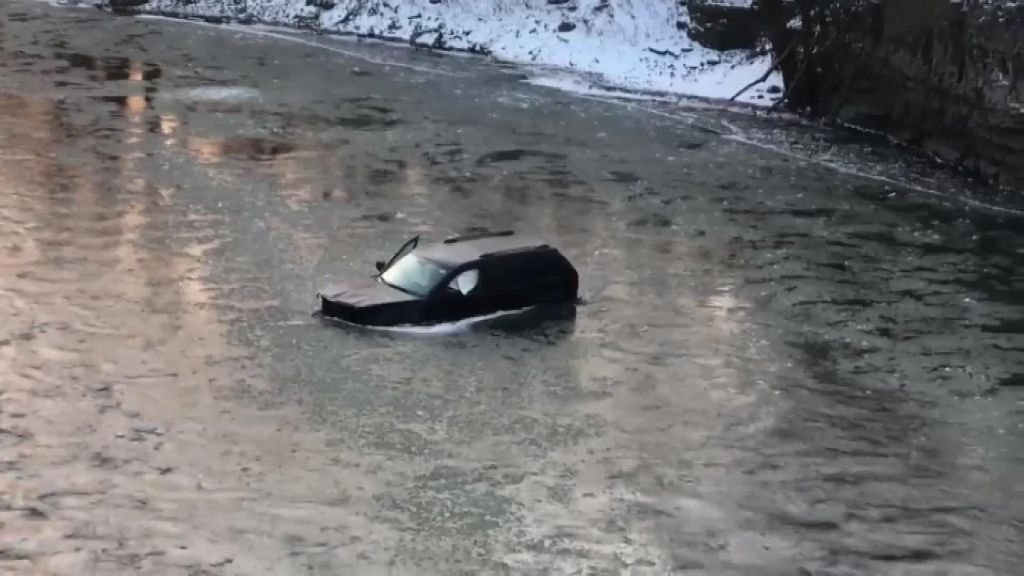 'Hey Siri, Call 911': Man Credits Virtual Assistant For Rescue After His Car Plunged Into Icy River
