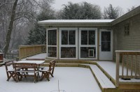 Winter Snow and Deck/Porch Protection. | Custom Decks of ...