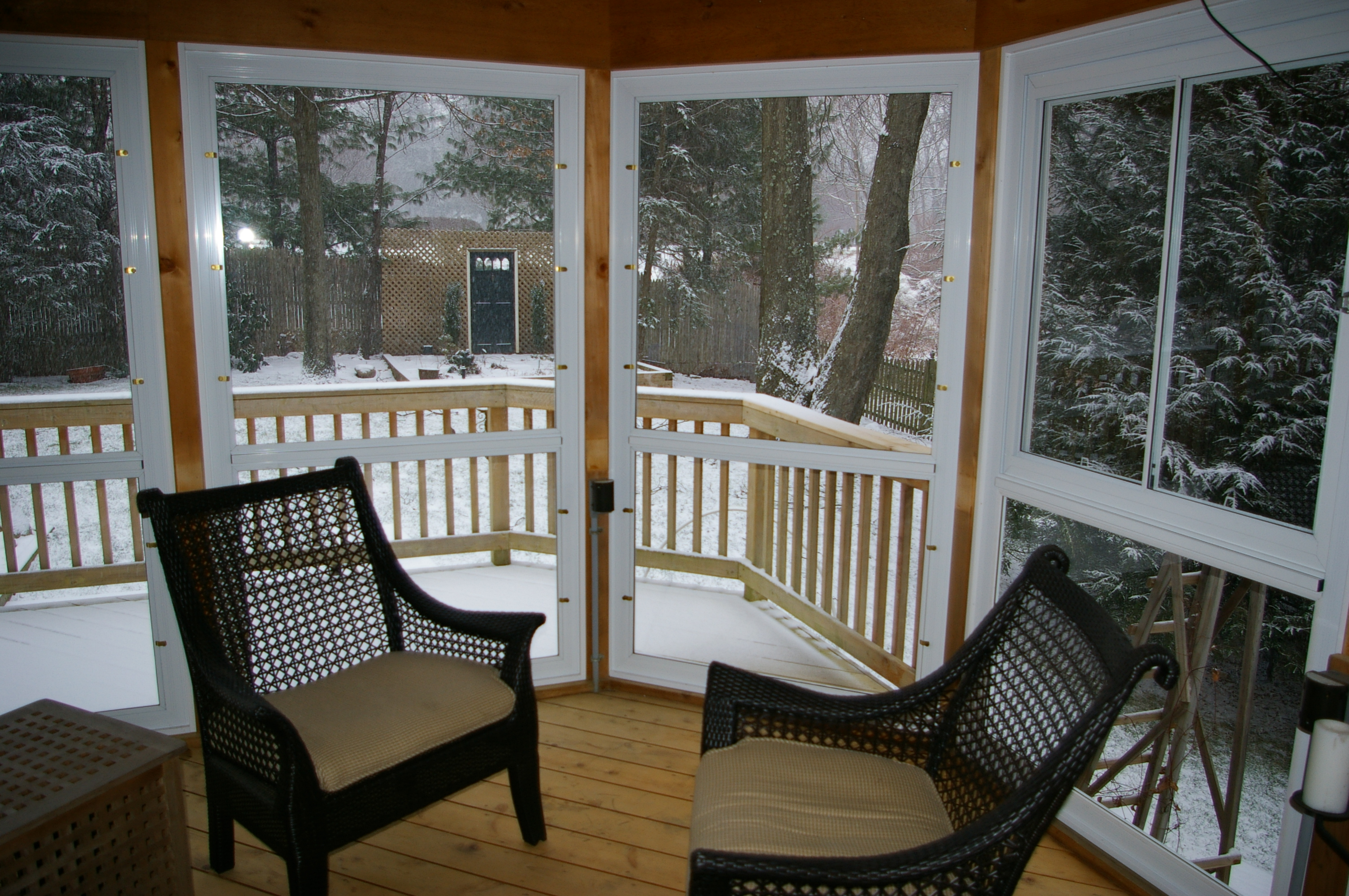Winter Snow and DeckPorch Protection  Custom Decks of