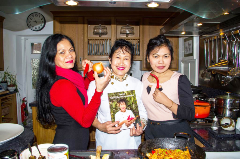 Hunting for authentic Indonesian cuisine; meeting Yayu Slocock, Dorset based Indonesian cook