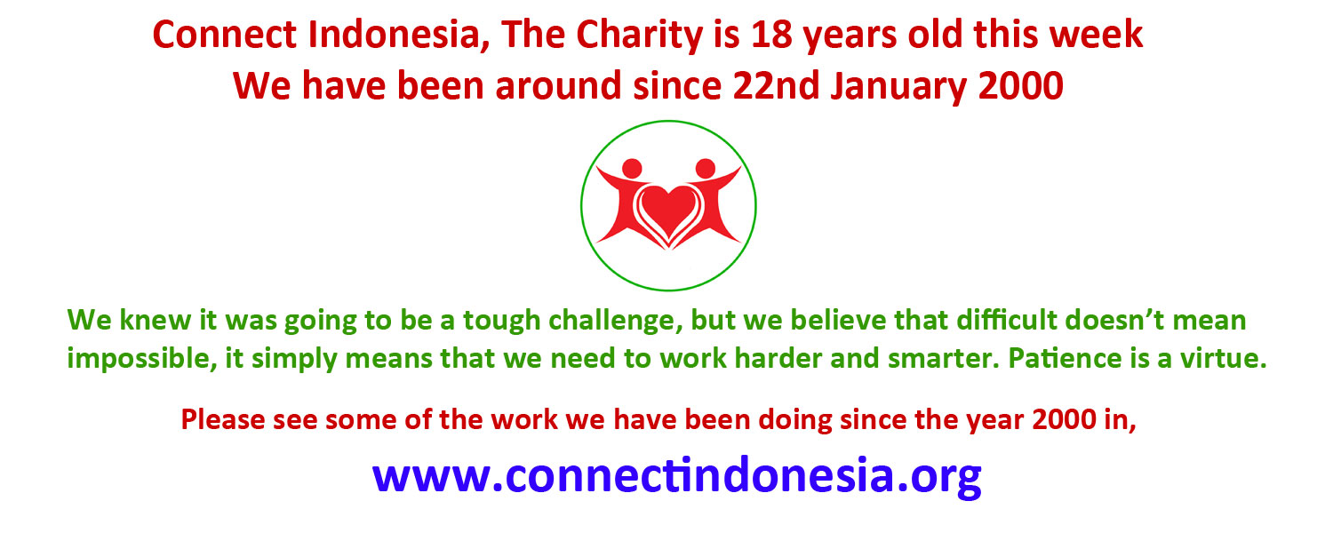 Our 18th Anniversary, 22 January 2000 – 22 January 2018