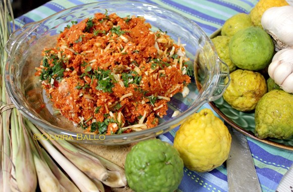 Sambal Lu'at Timor (Timorese chili paste / Timorese style chutney)