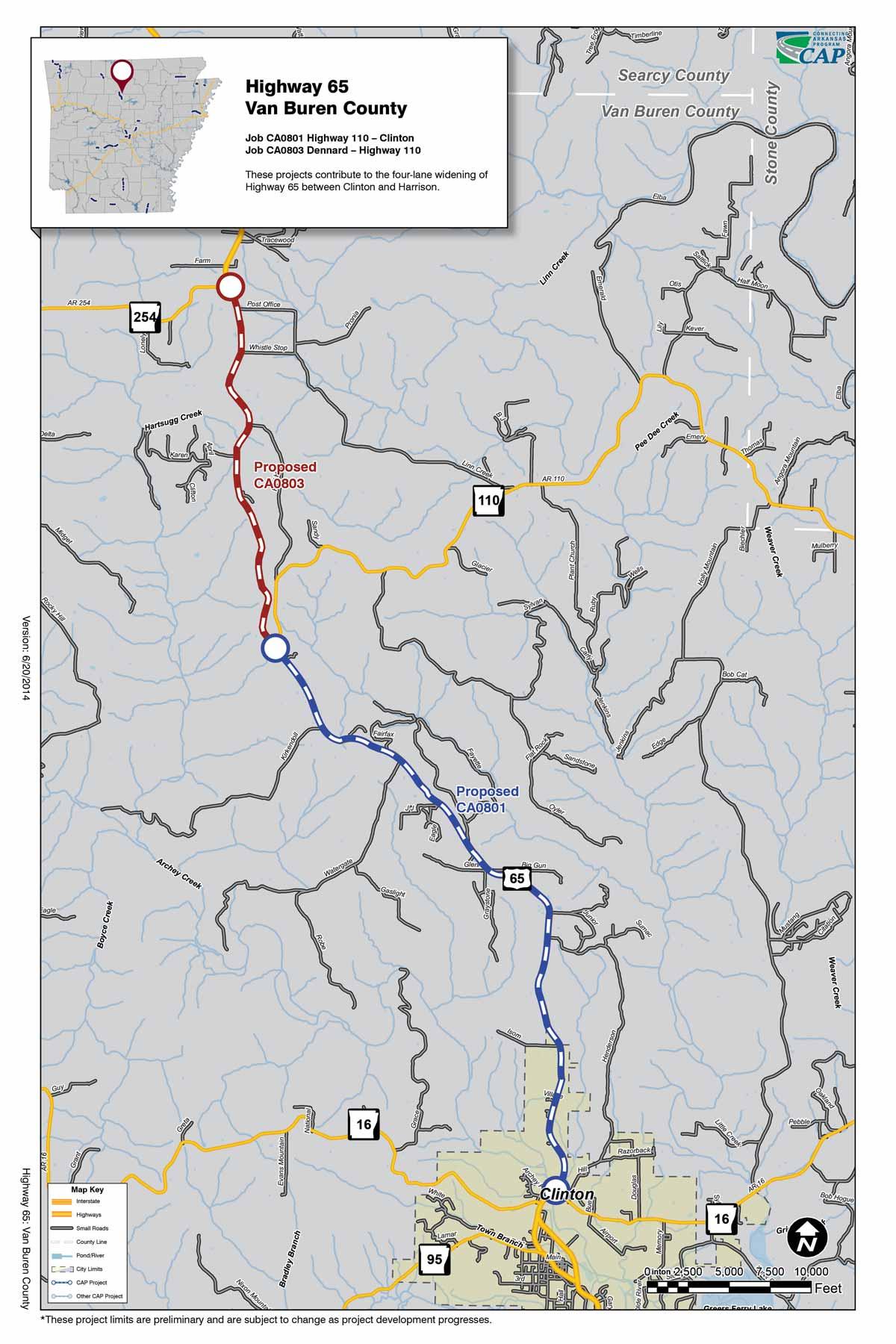 Cities Crittenden County Arkansas