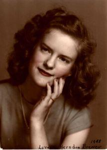 Circa 1948, Laverne Herndon Brewer, Memphis, TN