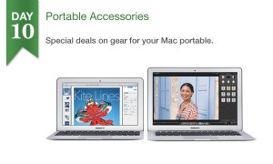 Today at Connecting Point, get 50% off select portable accessories