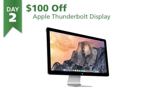 Apple Thunderbolt Display on sale for $100 off regular $999.99 price
