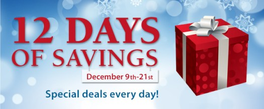 Connecting Point presents '12 Days of Savings 2013'