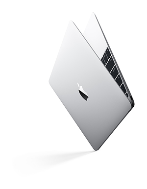 Apple very slim, very light MacBook, introduced March 2015