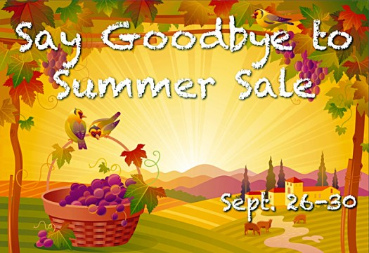 "Connecting Point's ""Say Goodbye to Summer Sale"" - though September 30th, 2013"