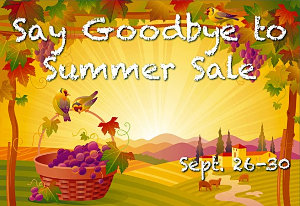 """Connecting Point's """"Say Goodbye to Summer Sale"""" - though September 30th, 2013"""