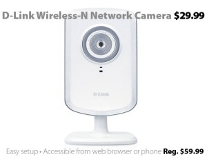 D-Link Wireless-N Network Cloud Camera for $29.99
