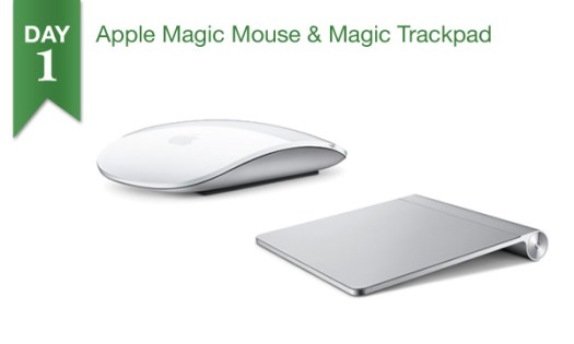 '12 Days of Savings 2013' DAY 1: $10 OFF Apple Magic Mouse and Magic Trackpad