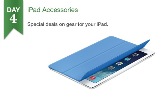 Connecting Point presents '12 Days of Savings 2013' Day 4: 25% Off Select iPad Accessories