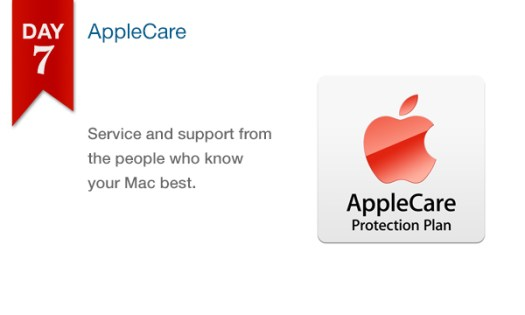 '12 Days of Savings' Day 7 - Save $$$ on AppleCare Protection Plan for Mac