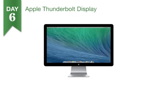 12 Days of Savings 2013 - Day 6: $75 Off Apple Thunderbolt Display