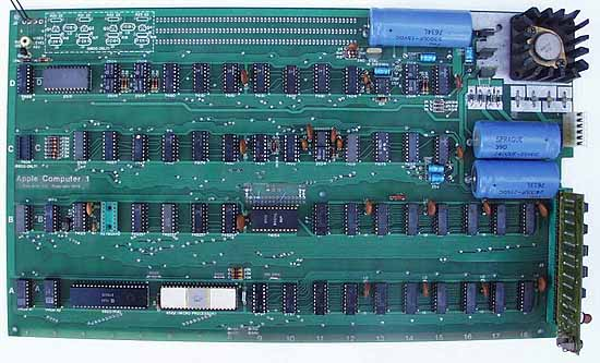 Original Apple I personal computer motherboard