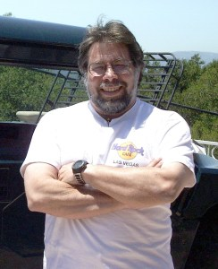 Apple co-founder and Apple I creator Steve Wozniak