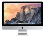 Apple iMac 27-inch running Yosemite