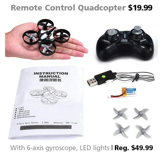 DOTW Deal of the Week RC Quadcopter Connecting Point Medford Oregon deal sale bargain remote control