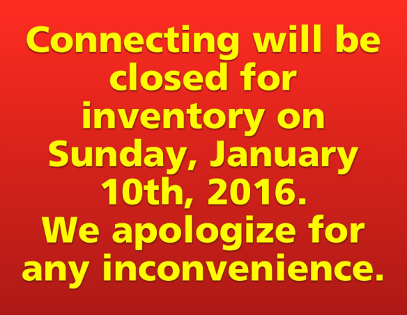 Connecting Point closed Jan. 10, 2016