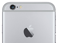 Location of iSight camera on Apple iPhone 6 Plus