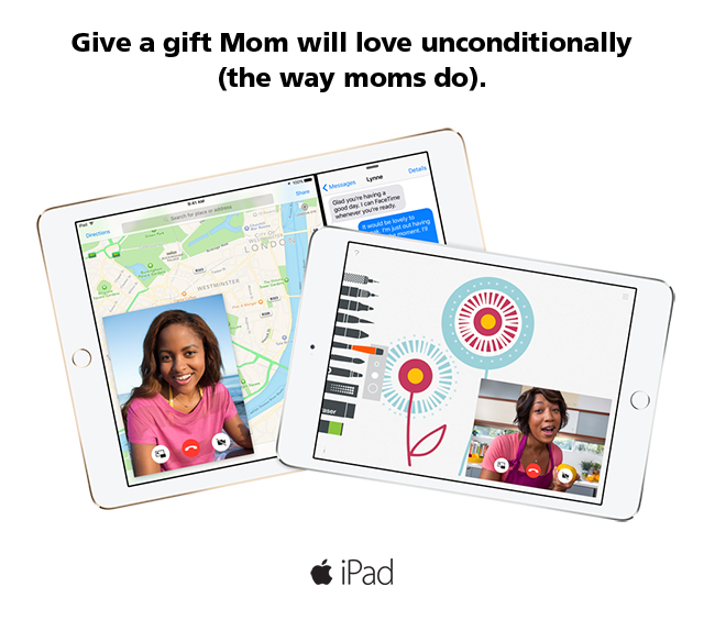 We've got some unconditionally great gifts for Mom