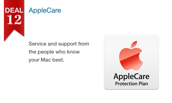 12 DAYS OF SAVINGS – DAY 12 (Sat., Dec. 24th): 25% Off All AppleCare