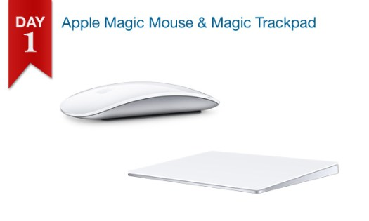 Connecting Point's 12 DAYS OF SAVINGS DAY 1 - Magic Mouse 2 $69.99; Magic Trackpad $99.99
