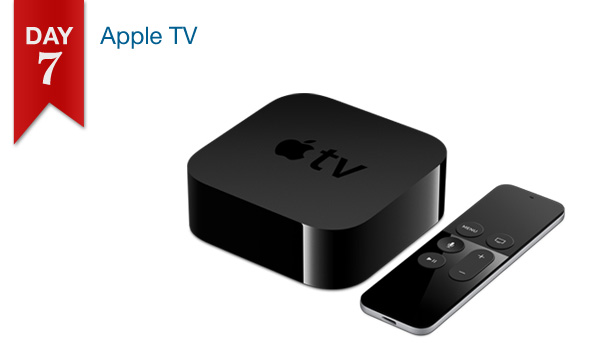 12 DAYS OF SAVINGS – DAY 7 (Monday, Dec. 19th): $20 Off All Apple TV Models