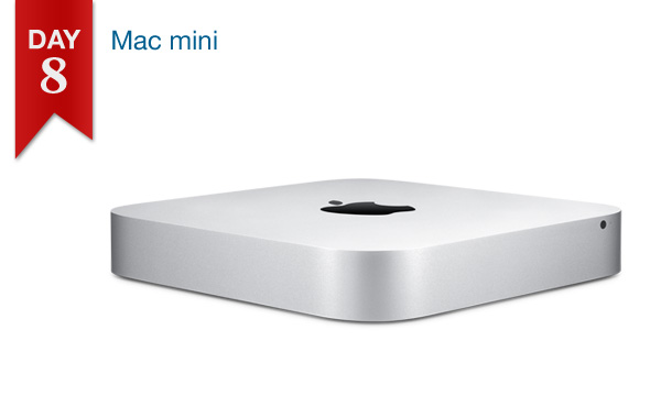 12 DAYS OF SAVINGS – DAY 8 (Tuesday, Dec. 20th): $25 Off All Mac mini Models
