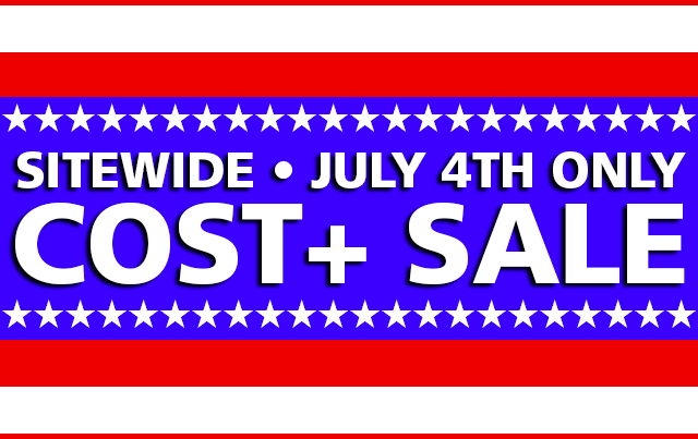 cost plus sale july 4th 2017 Independence Day Apple Mac iPad Watch bargain