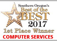 Southern Oregon Best of the Best 2017 Connecting Point Computer Services