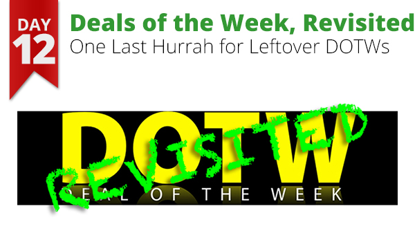 deals of the week DOTW 12 Days of Savings holiday sale bargain gifts Christmas Rogue Valley Medford Oregon Connecting Point