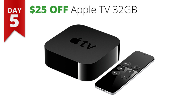 Apple TV 32GB 12 days of savings deal bargain gifts Christmas holiday Rogue Valley Connecting Point Medford Oregon