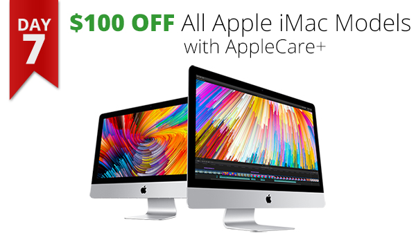 iMacs AppleCare+ savings bargain deal Apple Mac holiday Christmas gifts Connecting Point Medford Oregon