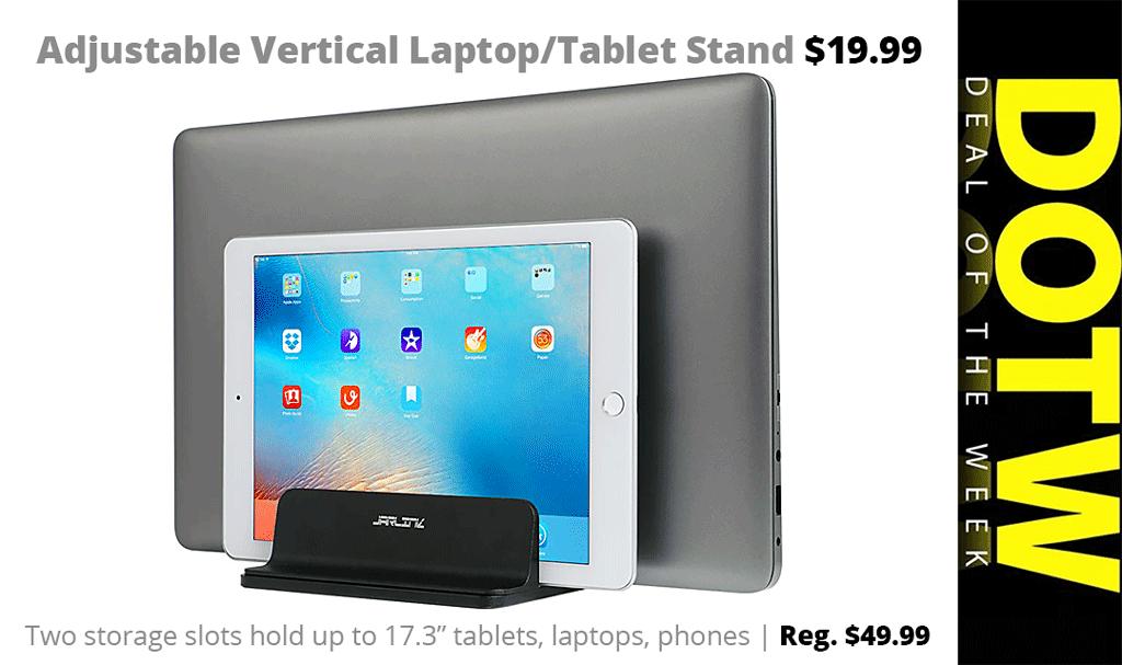 Weekly Deal 5 17 19 Vertical Laptop Stand 19 99 Reg 49 99