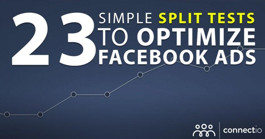 23 simple split tests