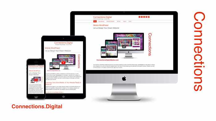 Connections Digital - Mobile Responsive WordPress Website Design!