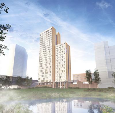 Ho-Ho Building es un rascacielos de madera de 24 plantas que se contruirá en Viena.
