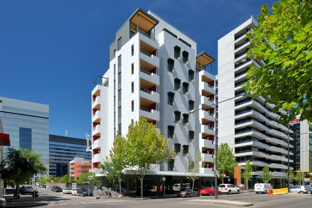 Forte Building es un edificio de madera de 10 plantas y 32 metros de altura situado en Melbourne.