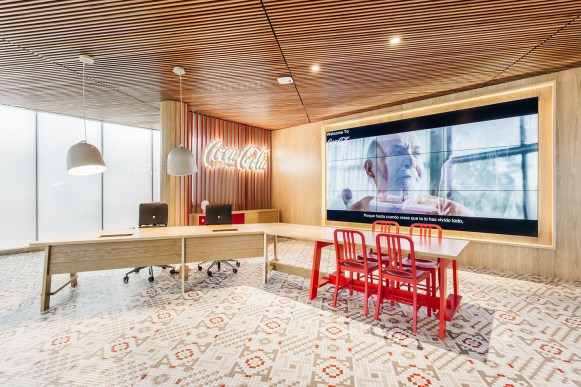 Coca-Cola Offices, by Stone Designs