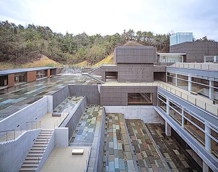 Ceramic Park Mino, Arata Isozaki, 2002. Foto: Hisao Suzuki