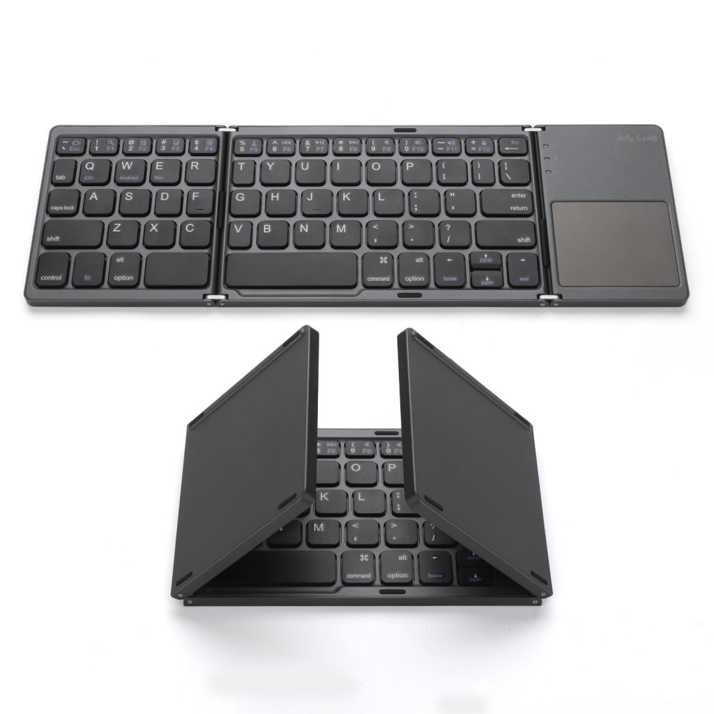 Jelly Comb Foldable Pocket Size Portable Mini BT Wireless Keyboard