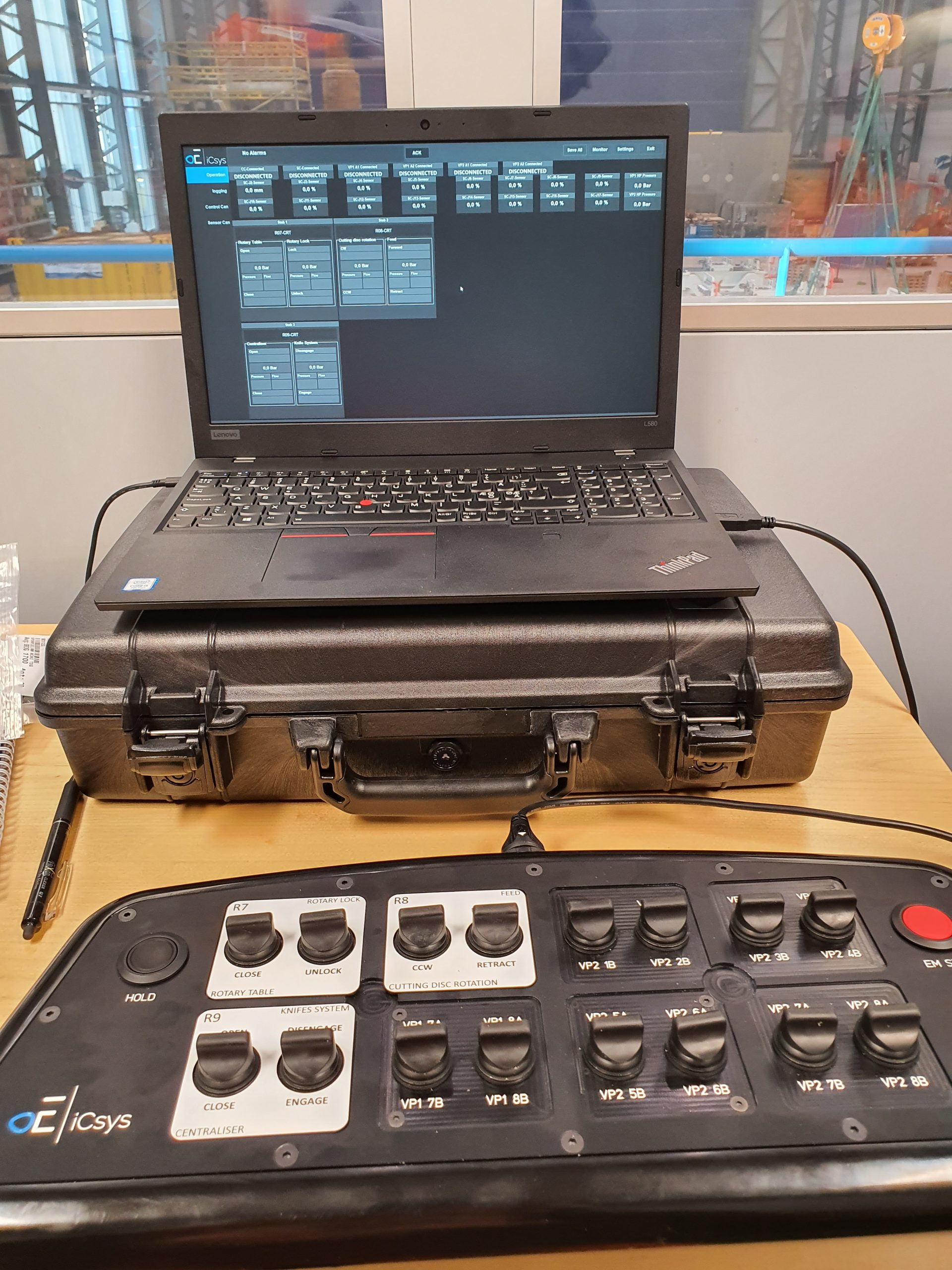 Subsea control system for ROV skid and backpack