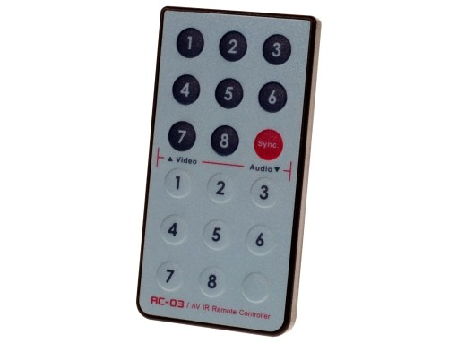 IR remote for ConnectPRO switches