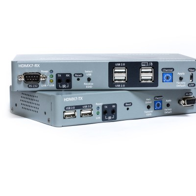 HDMI KVM Extender transmitter and receiver units