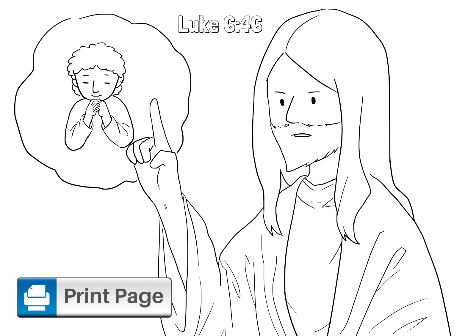 Building Your House on the Rock Coloring Pages (Printable