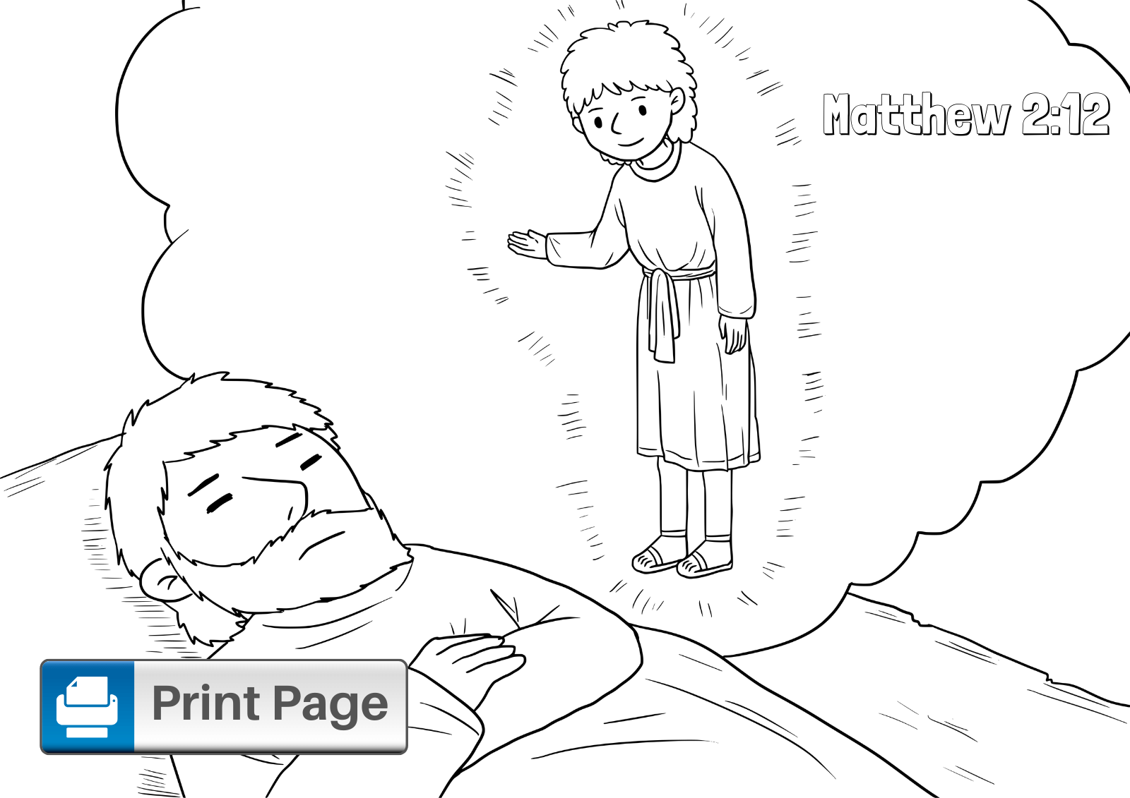 Free Three Wise Men Coloring Pages for Kids (Printable
