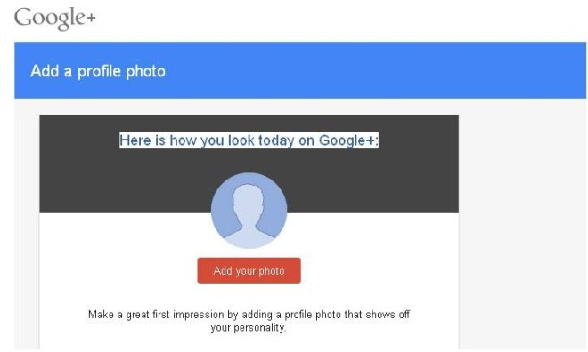 how to delete profile photo on google plus